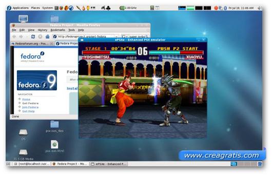 Immagine dell'emulatore EPSXe