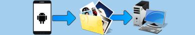 Trasferire foto su PC da Android o iPhone in Wi-Fi