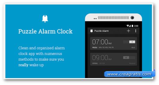 Immagine dell'applicazione Puzzle Alarm Clock per Android