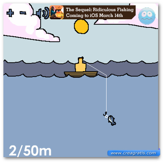 Immagine del gioco Ridiculous Fishing