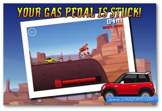 Immagine del gioco di macchine Extreme Road Trip per Android