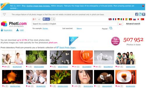 Immagine del sito Photl