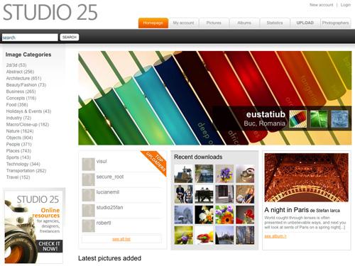 Immagine del sito Studio 25