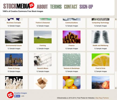 Immagine del sito StockMedia