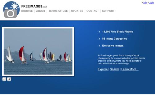 Immagine del sito Free Images