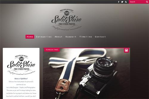 Immagine del sito Splitshire