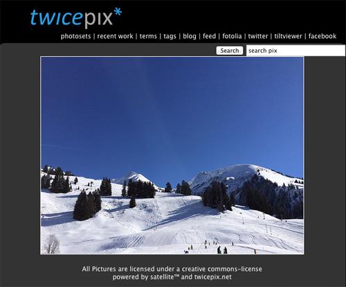 Immagine del sito TwicePix