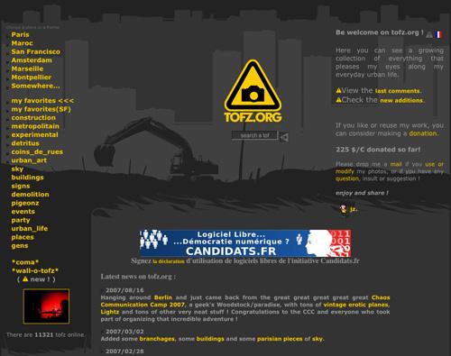 Immagine del sito Tofz