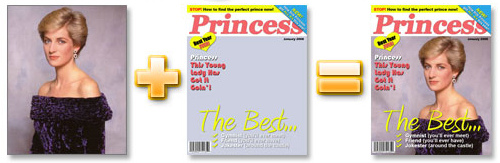 Immagine del sito Fake Magazine Cover