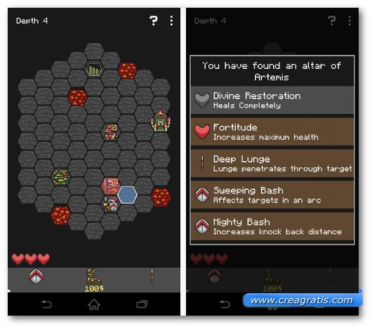 Schermate del gioco Hoplite per Android