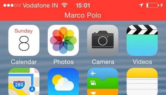Attivazione dell'applicazione Marco Polo per iPhone