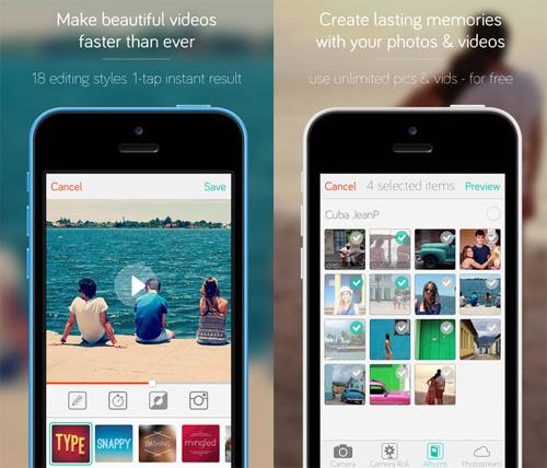 Immagine dell'applicazione Replay per iPhone e iPad