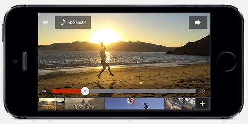 Schermata dell'app YouTube Capture per iPhone e iPad
