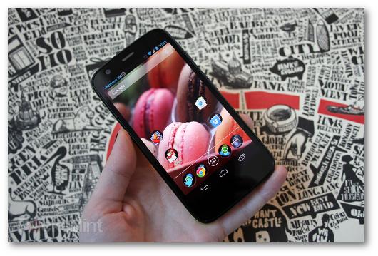 Immagine dello smartphone Motorola Moto G