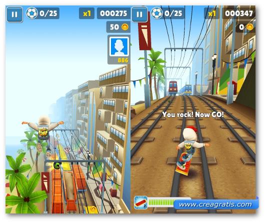 Schermate del gioco Subway Surfers  per Windows Phone