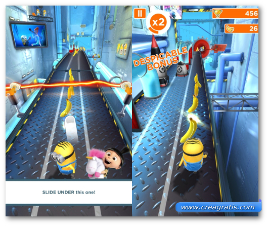 Schermate del gioco Despicable Me: Minion Rush per Windows Phone