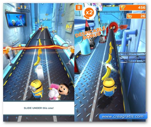 Schermate del gioco Despicable Me: Minion Rush per Windows Phone