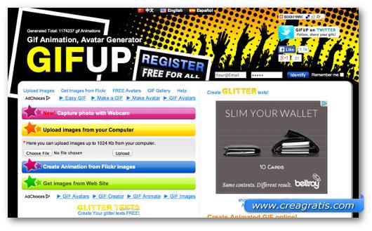 Immagine del sito GIFUp