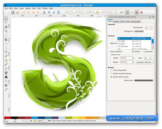 Disegnare loghi con GIMP