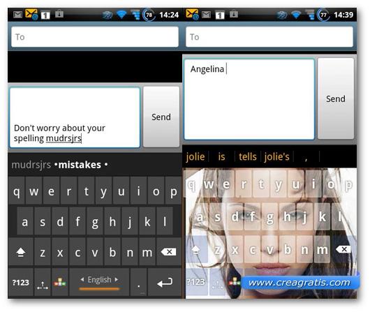 Schermate della tastiera A.I.Type Keyboard Plus per Android