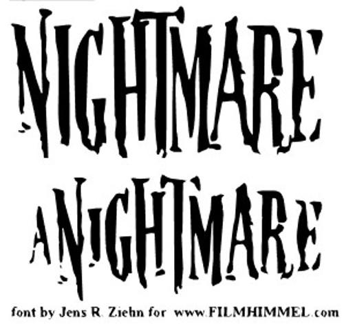 03-font-horror-Nightmare