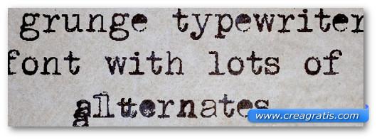 Immagine del font DK P.I. Font