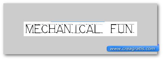 Immagine del font Mechanical Fun Font