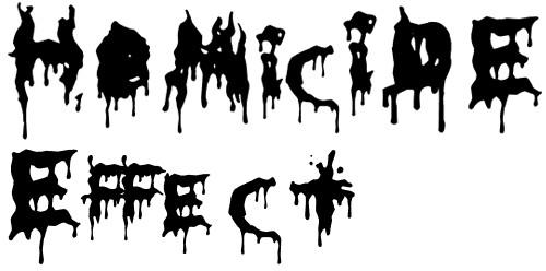 17-font-horror-HoMicIDE-EFfeCt