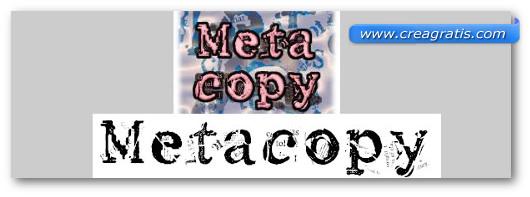 Immagine del font Metacopy