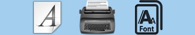 Font in stile macchina da scrivere da scaricare gratis