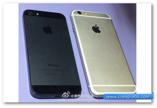 Immagine dello smartphone iPhone 6