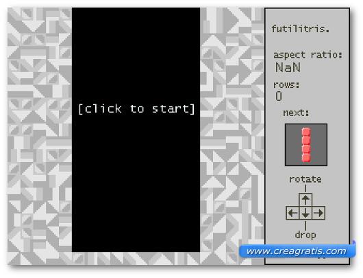 Immagine del gioco online Futilitris
