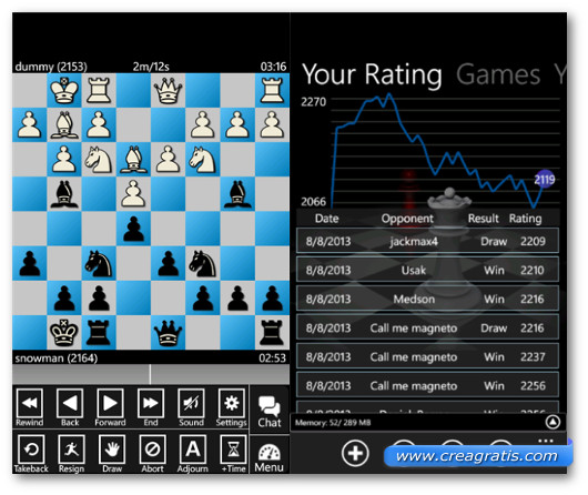 Immagine del gioco Zynpo Chess per Windows Phone