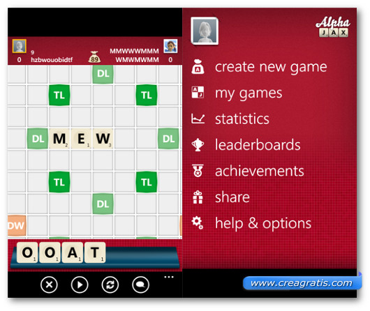 Immagine del gioco AlphaJax per Windows Phone