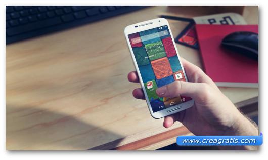 Immagine dello smartphone Motorola Moto X 2nd Gen.