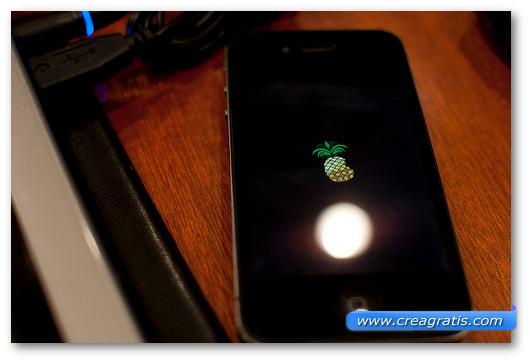 Immagine di un iPhone con jailbreak
