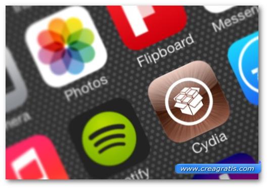 Immagine di alcune applicazioni iOS