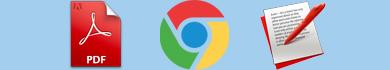 Modificare PDF con Chrome