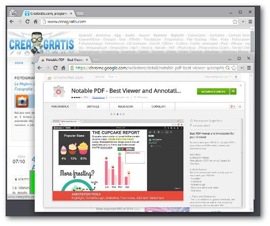 Installazione dell'estensione Notable PDF per Chrome