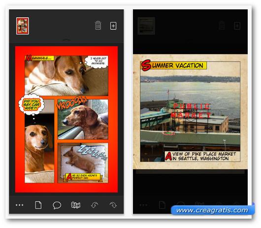 Schermate dell'app Halftone 2 per iPhone 6