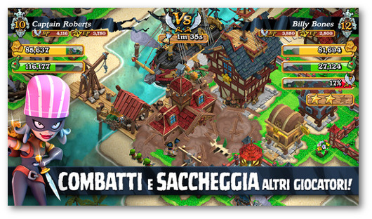 Immagine del gioco Plunder Pirates per iPhone 6