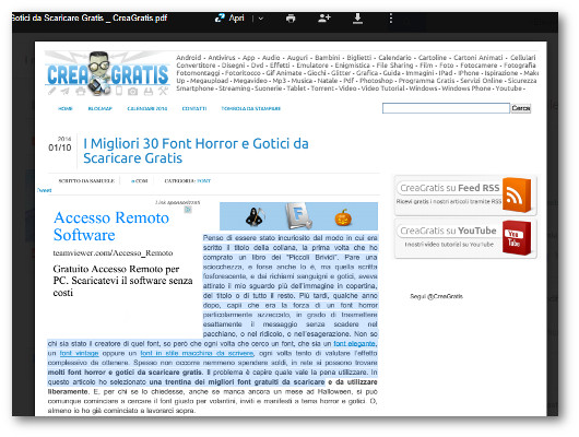 Estrazione del testo da un PDF