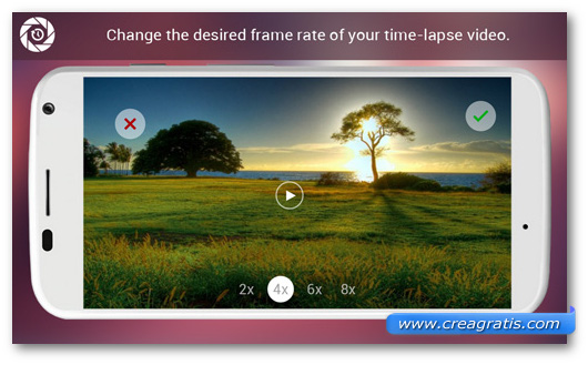 Immagine dell'app Hyper Timelapse per Android
