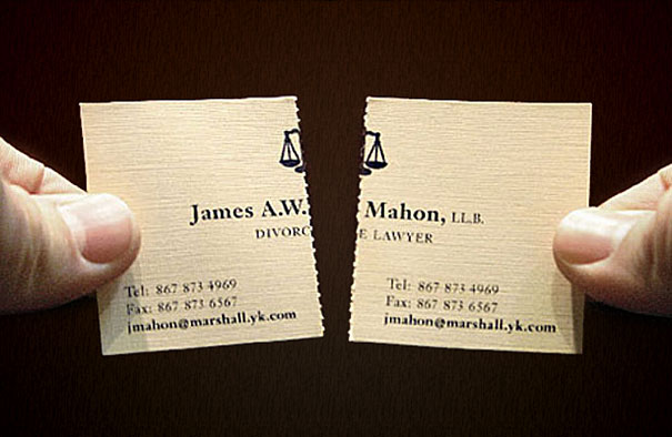 Biglietti da Visita Avvocato Divorzista 2