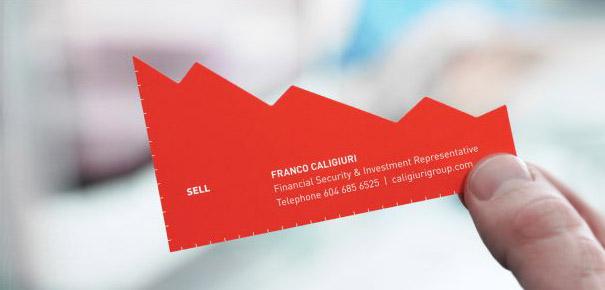 Biglietti da Visita Servizi Finanziari 2