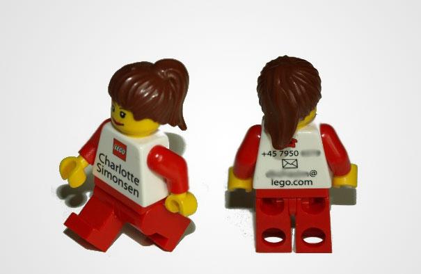 Biglietti da Visita Lego
