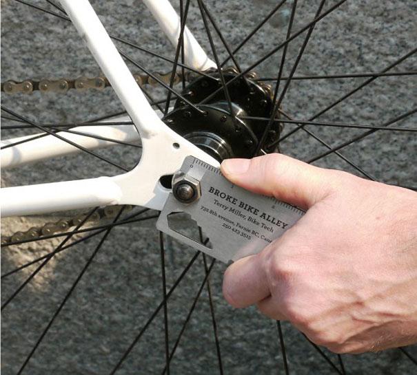 Biglietti da Visita Meccanico Biciclette 2