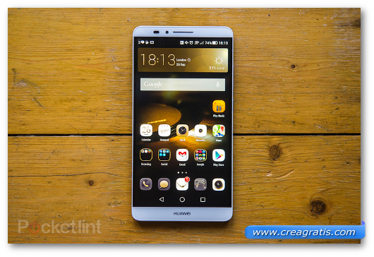 Immagine del phablet Huawei Ascend Mate 7