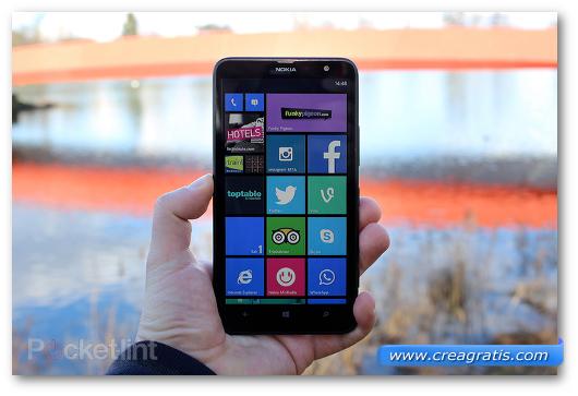 Immagine del phablet Nokia Lumia 1320