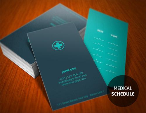 Biglietto da Visita per medici n.2